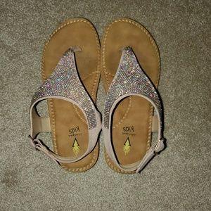Girl's Volatile Kids Glitter sandal
